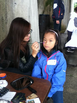 professional artist-face painting-Hamilton ON