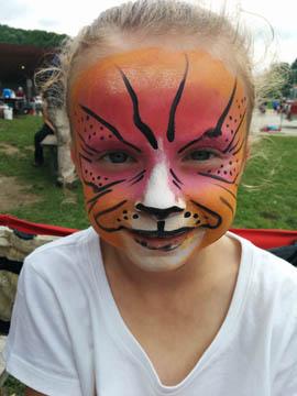 face painting by Danuta Niton