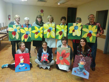 social painting in Hamilton ON
