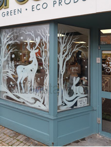 window-painting-deer